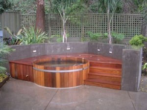 Hot tub in Mission BC