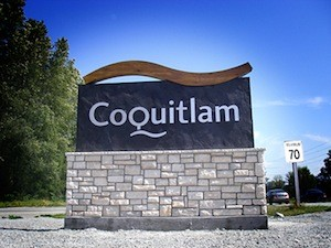 City of Coquitlam sign