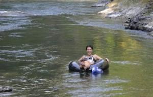 Cowichan river tubuing