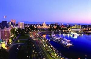 Victoria BC evening